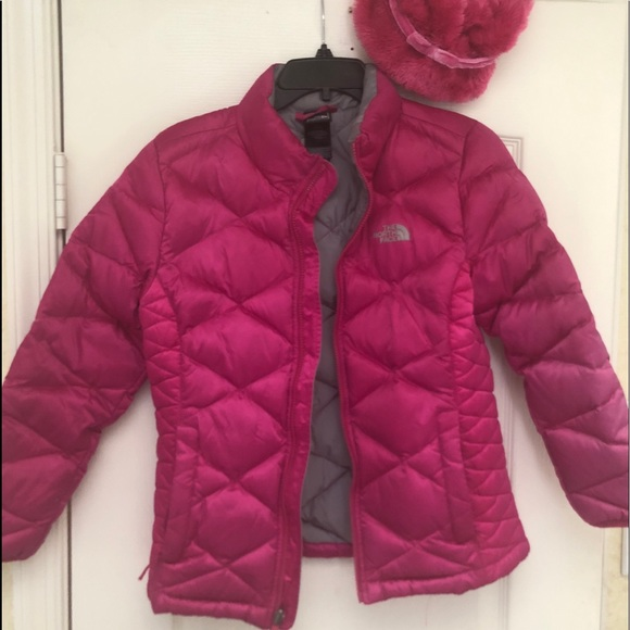 c4e190bab The North Face Children's Fushia Jacket